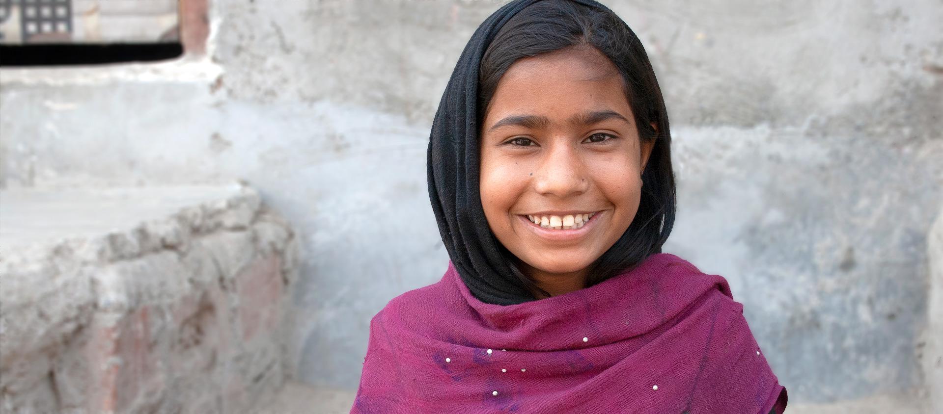 Ansura från New Dehli i Indien, vill lära vuxna förstå