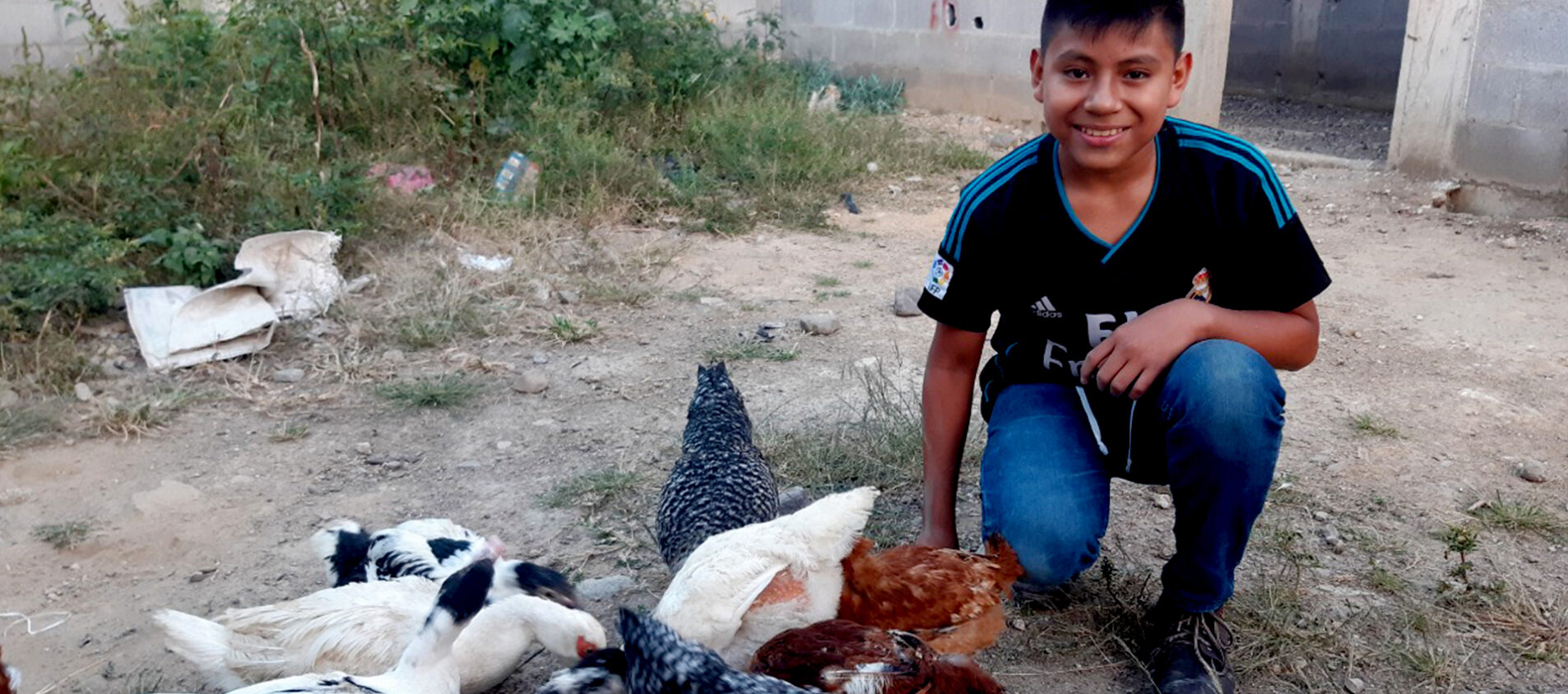 Cristian i Guatemala tar hand om miljön