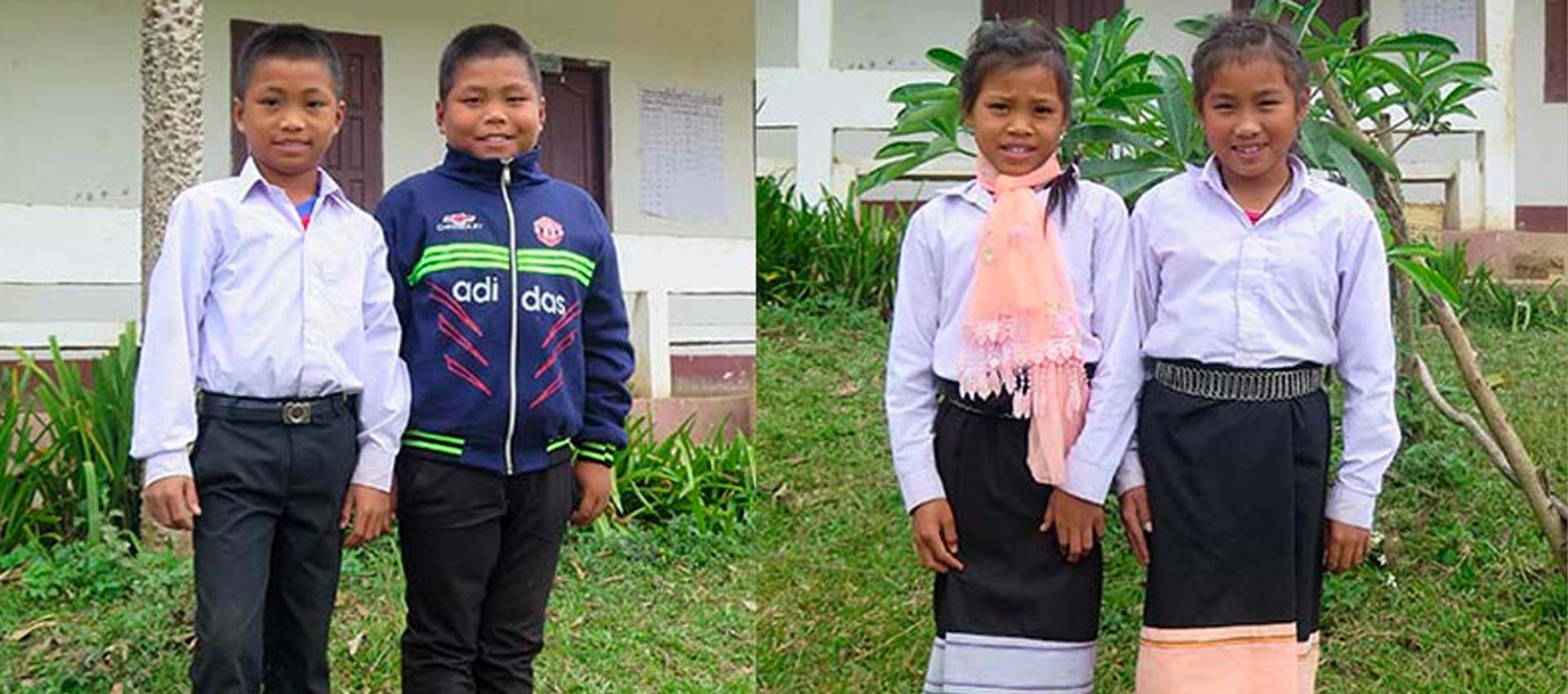 Vad läser barn i Laos?