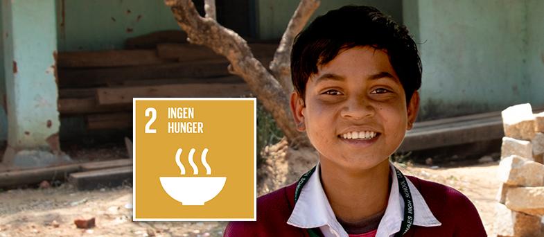 Rafikis e-lektion om globala målet 2 - Ingen hunger