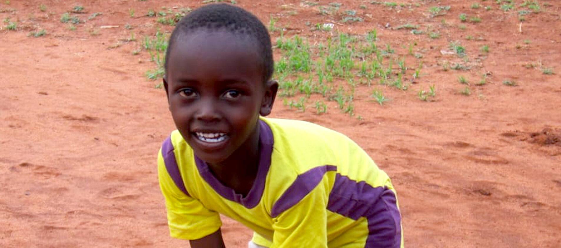 Mpapayio vill bli familjehem när han blir stor.