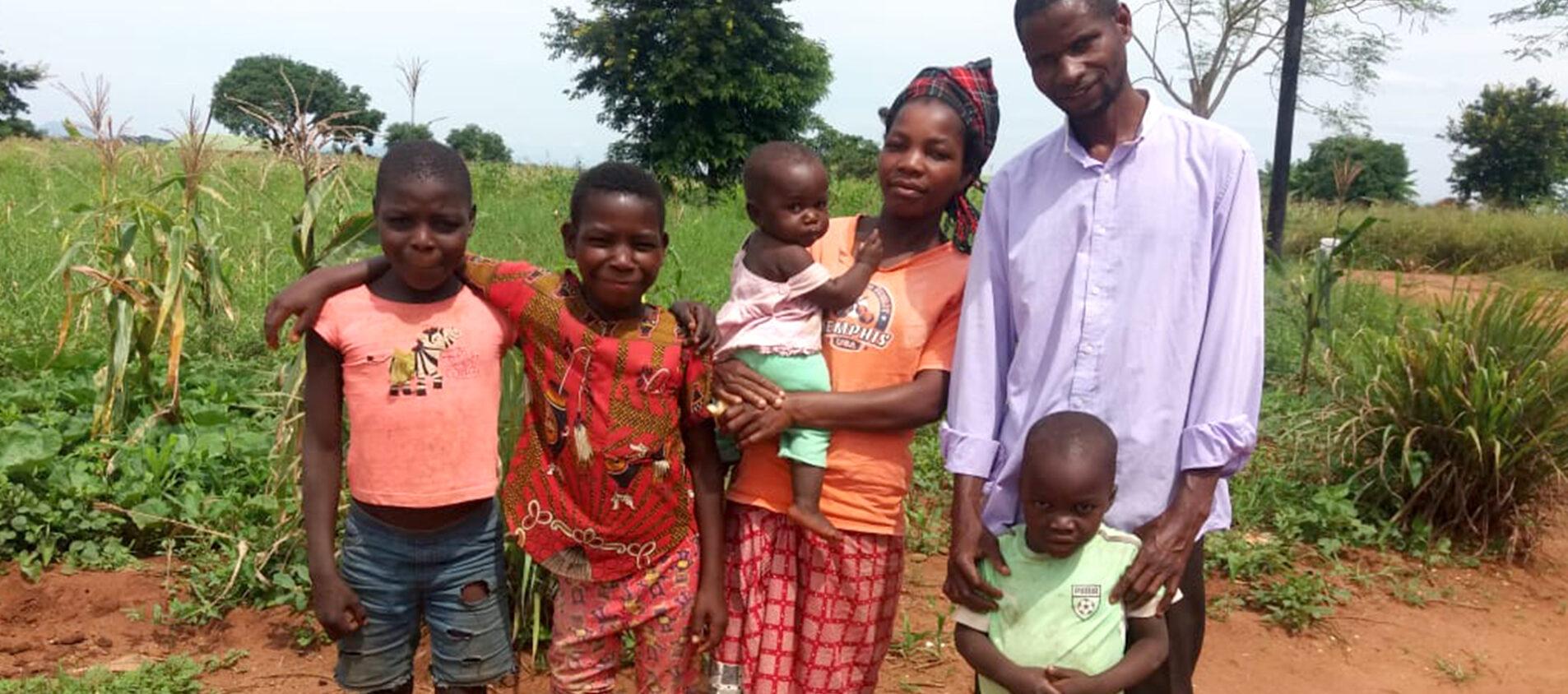Luisas familj i Mocambique
