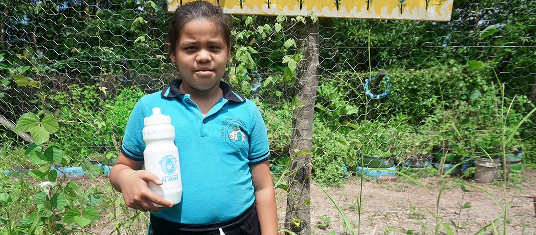 Nataly röstade i skolvalet om rätten till rent vatten