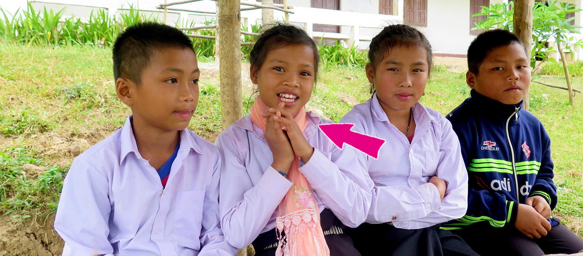Nyaing bor i Laos. Hon gillar griskött mest.