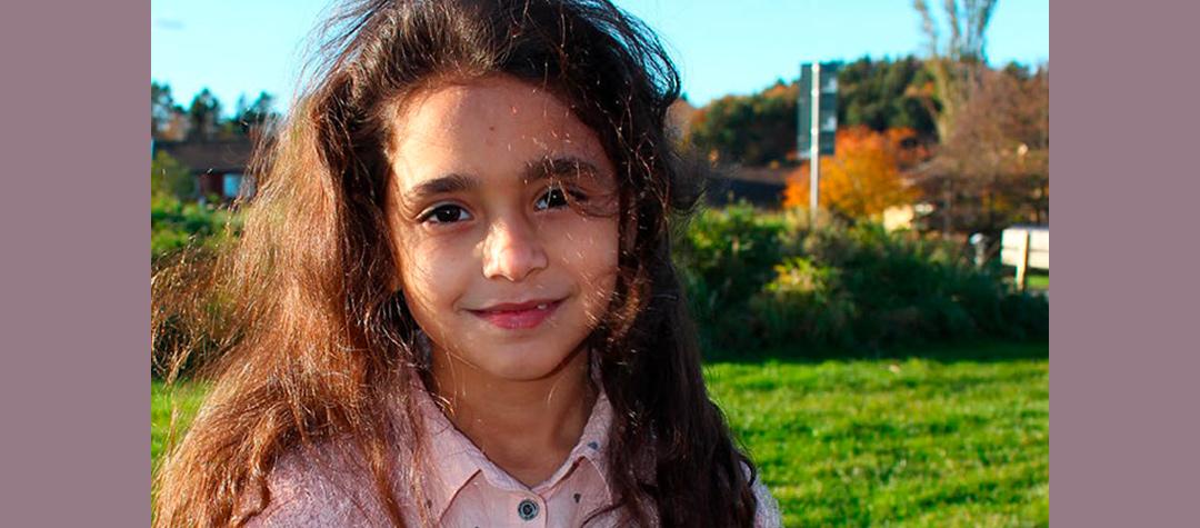 Bissan föddes i Syrien och bodde i den stora staden Idlib. När kriget kom tvingades familjen att fly.