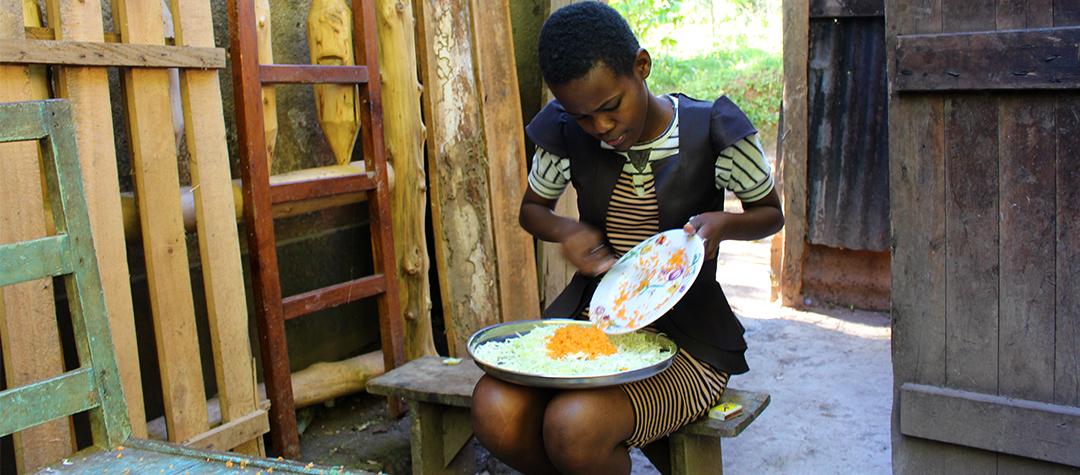 Recept på kålwok med morötter.