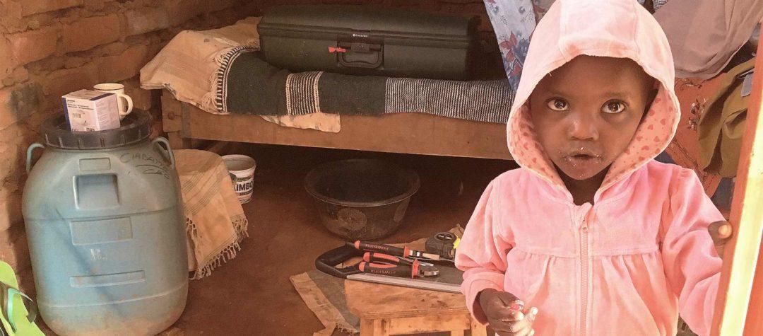 Mercy är 6 år och bor i Kenya