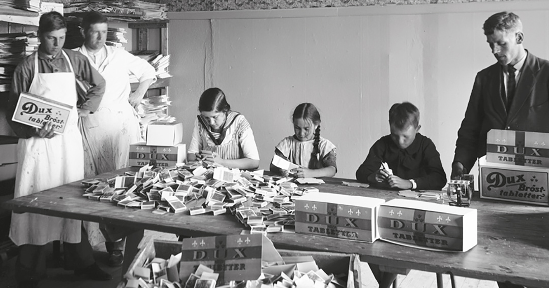 Barnarbete i Sverige