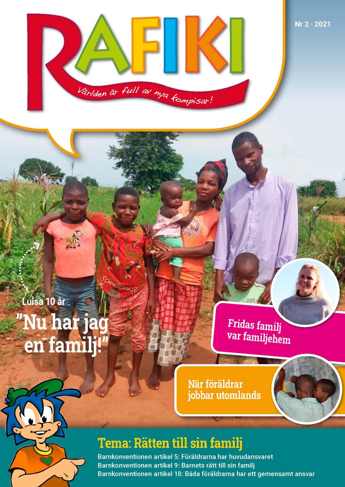 Rafikis tidning om barns rätt till sin familj